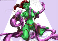 goblin hentai sabudenego pictures user goblin tentacle rape part commission page all