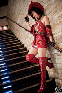 guilty gear x hentai cosplay hezachan black magic woman
