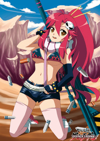 gurren lagann yoko hentai game manga hottest animemanga females