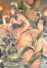 naughty tentacle hentai pics naughty elf tentacle hentai