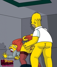 neighbors from hell hentai faea drawn hentai homer simpson mindy simmons simpsons since
