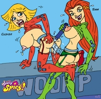 new toons hentai sexual toons totally spies threesome