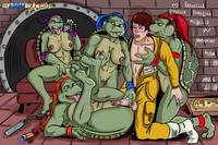 ninja hentai comic toons eac mutant ninja turtles orgy galleries superhero comics