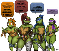 ninja hentai comic oddrich pictures user mutant ninja turtles page all