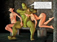 ogre hentai dmonstersex galleries picture punished repulsive creatures ogre hentai