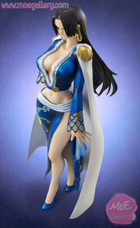 one piece hentai beta figures one piece boa hancock figure blue