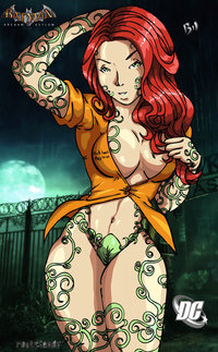 poison ivy hentai pre poison ivy bilcassonato morelikethis fanart cartoons digital games