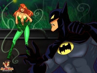 poison ivy hentai sheanimale poisonivy batman mess shemale poison