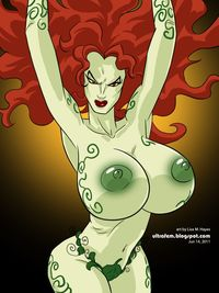 poison ivy hentai lusciousnet poison ivy breasts superheroes pictures album green pink pussy sorted position