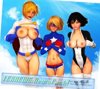 power girl hentai edcf power girl terra courtney whitmore stargirl atlee petercotton