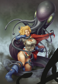 power girl hentai cdcf art commish power girl