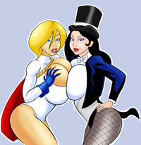 power girl hentai glassfish power girl zatanna pictures user