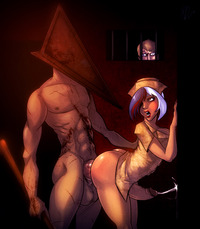 pyramid head hentai badb fbc devil pyramid head silent hill