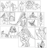 pyramid head hentai pritzchan pictures user pyramid head family valentines day