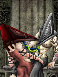 pyramid head hentai pyramid head fun cjdj carlie art