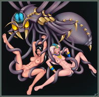 raven hentai tentacles dcd angharad gwyn raven beetle hive damia lyon rowan tower mister mediocre