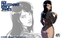 red alert hentai gdi lieutenant kirce james wallpaper command conquer red alert girls