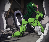red she hulk hentai slywalker lusciousnet sparrow sensational hulk western hentai pictures album art sorted best