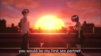 romantic hentai anime confession mysterious girlfriend lot more regular drivel