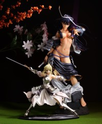 saber lily hentai figures uesugi kenshin volks saber lily from sengoku rance brand version nsfw