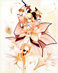 saber lily hentai moe fate stay night unlimited codes saber lily sword weekly art