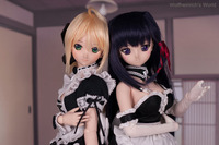 saber lily hentai web dollfie dream saber lily kiriha kuze maid version