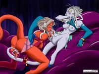 sailor moon yuri hentai blueversusred commission sailor moon weekly youma attack pictures user