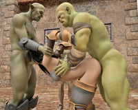sexy creatures hentai scj galleries forced threesome hentai monsters babes