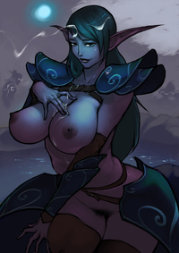 sexy world of warcraft hentai sexy night elves black chain