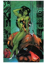 she hulk e hentai hulk marvel swimsuit issue