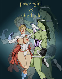 she hulk hentai comics power girl hulk nip slip costume tear torn costumes slips