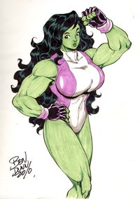 she hulk hentai comics pre hulk color commission dogsupreme morelikethis artists