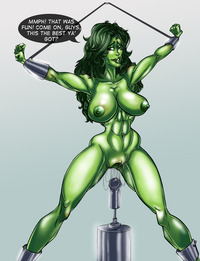 she hulk hentai comics chogori pictures user shehulk belly