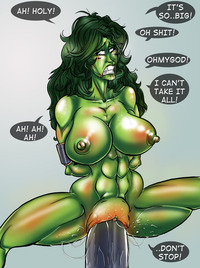 she hulk hentai comics chogori pictures user shehulk belly stuffed