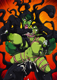 she hulk hentai lusciousnet crazy symbiote superheroes pictures album hulk gamma porn page