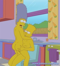 simpson hentai gif sfan marge simpson bart simspon animation pictures user