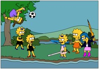 simpsons e hentai twins simpsons fantasy gazmanafc