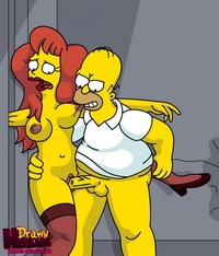 simpsons e hentai bdd adf acb drawn hentai homer simpson mindy simmons simpsons picture