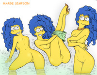 simpsons hentai 5 dcd cec fluffy marge simpson simpsons naked from hentai