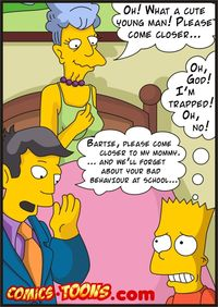 simpsons hentai comic cartoon simpsons wallpapers