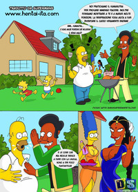 simpsons hentai comic vvit quw posts hentai los simpsons comic