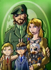 solid snake hentai pre solid family values morelikethis fanart digital drawings