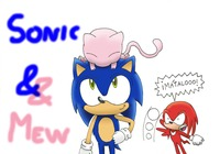 sonic and mario hentai sonic mew alicia hedgehog zsf morelikethis fanart digital drawings games