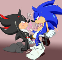 sonic and shadow hentai shadow hedgehog sonic team shoppaaaa