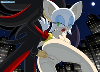 sonic and shadow hentai greenhand rouge bat shadow hedgehog sonic team