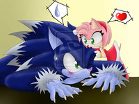 sonic hentai blog sonic werehog amy monicashadowxd cyjuo art rose