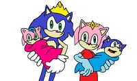 sonic hentai comic sonamy their twins jennithecat zzl morelikethis manga traditional paintings
