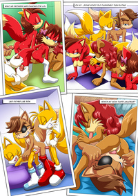 sonic hentai comic prower family affair kinky memories sonic hedgehog completed palcomix