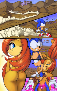 sonic hentai comic thefuckingdevil sally acorn comic sonic hedgehog