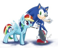 sonic hentai forum rainbow dash sonic hedgehog